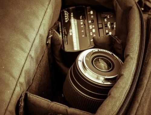 Die Objektivtasche – Schützen Sie optimal Ihr Objektiv